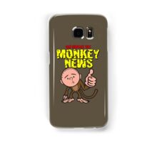 Karl Pilkington - Monkey News Samsung Galaxy Case/Skin