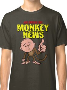 Karl Pilkington - Monkey News Classic T-Shirt
