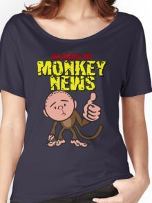 Karl Pilkington - Monkey News Women's Relaxed Fit T-Shirt