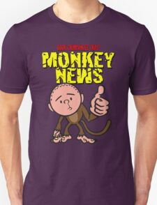 Karl Pilkington - Monkey News Unisex T-Shirt