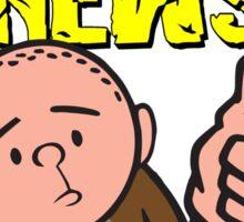 Karl Pilkington - Monkey News Sticker