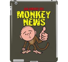 Karl Pilkington - Monkey News iPad Case/Skin