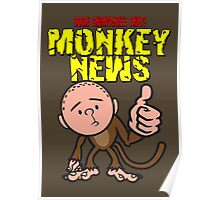 Karl Pilkington - Monkey News Poster