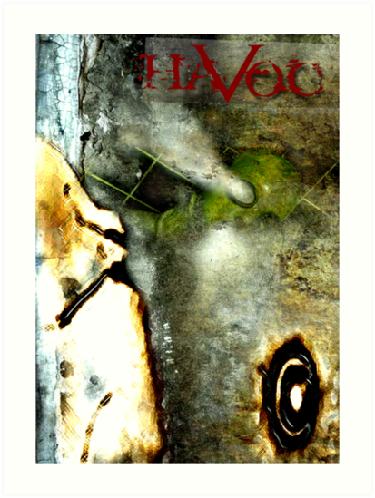 GRAPHIC NOVEL COVER: HAVOC by morphfix