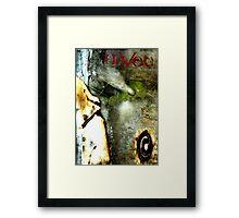 GRAPHIC NOVEL COVER: HAVOC Framed Print