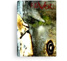 GRAPHIC NOVEL COVER: HAVOC Canvas Print