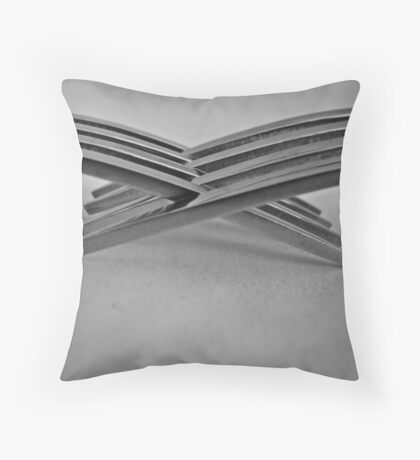 Tines Entwined Throw Pillow