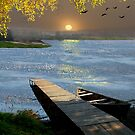 Quiet Wharf by Igor Zenin