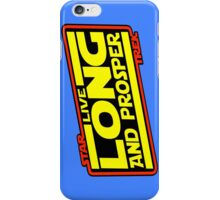 Live Long & Prosper Strikes Back iPhone Case/Skin