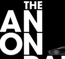 The Cannonball Run - Lamborghini Countach Sticker