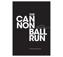 The Cannonball Run - Subaru GL Photographic Print