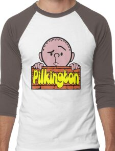 Karl Pilkington - Peeking Pilkington Men's Baseball ¾ T-Shirt