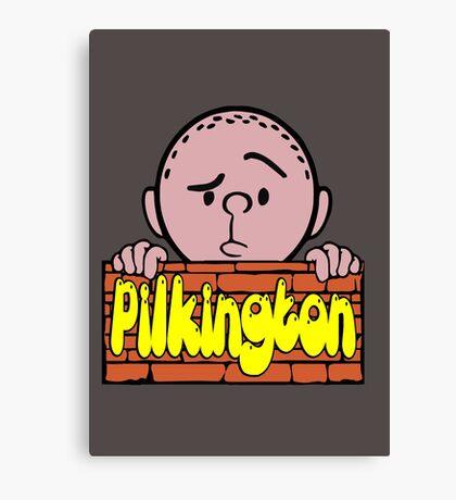 Karl Pilkington - Peeking Pilkington Canvas Print