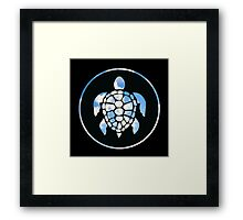 Sky Turtle Framed Print