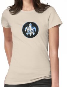 Sky Turtle Womens Fitted T-Shirt