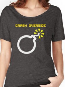 Crash Override Women's Relaxed Fit T-Shirt