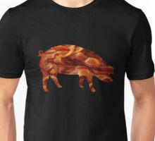 Tasty Bacon Pig Unisex T-Shirt