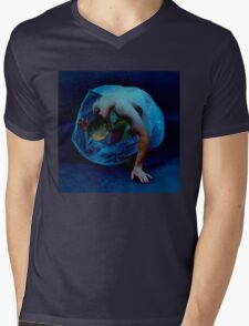 SAFE SEX FANTASY Mens V-Neck T-Shirt