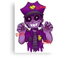 The Purple Man Canvas Print