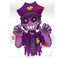 The Purple Man Poster