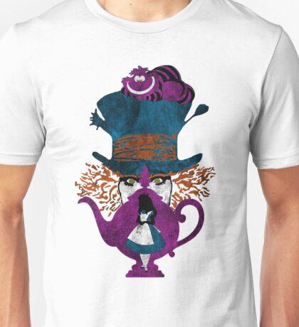 Wonderland (white) Unisex T-Shirt