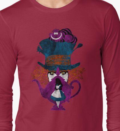 Wonderland (light pink) Long Sleeve T-Shirt