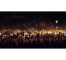 1000 Torches Photographic Print