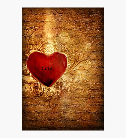 Love Conquers All Photographic Print
