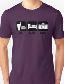 Eat Sleep Snap Unisex T-Shirt