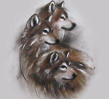 wolf wolves animals,wildlife,wildlife art,nature by JackieFlaten