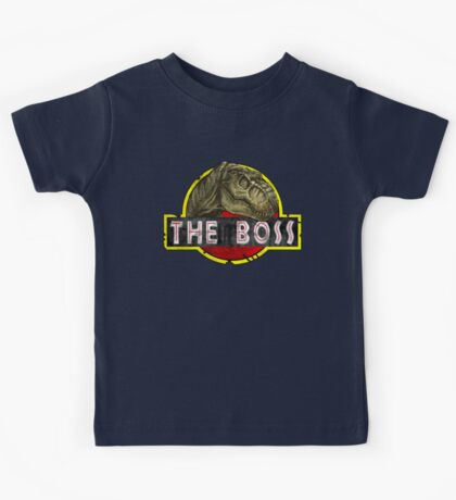 T-Rex the Boss Kids Tee