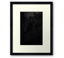 Exeter Cathedral in greys Framed Print