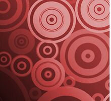 Water Ripples (red) by Vitalitee