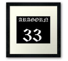 Aragorn 33 Framed Print