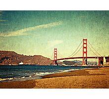 Vintage Golden Gate Photographic Print