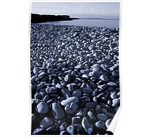 Beach at Penmon, Anglesey Poster
