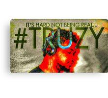 #TRUZY Billboard by TRUZY Canvas Print