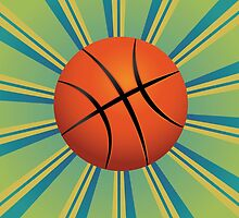 Basketball Ball Background by AnnArtshock