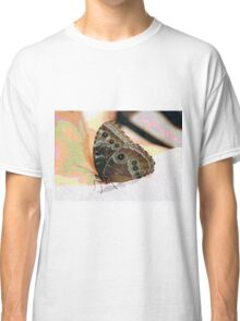 Butterfly Oil Pastel Classic T-Shirt