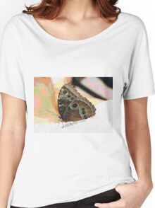 Butterfly Oil Pastel Women's Relaxed Fit T-Shirt