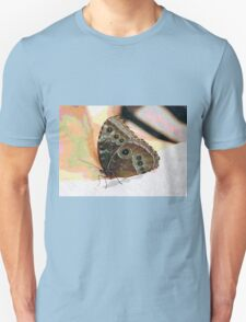Butterfly Oil Pastel T-Shirt