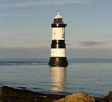 Penmon lighthouse by Bev Evans