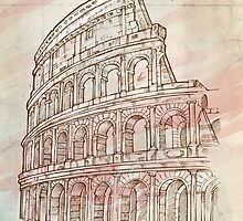 roman colosseum  by Doomko