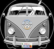 VW split-screen bus by car2oonz