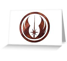 The Jedi Order Greeting Card