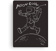 Moon cool - by night Canvas Print