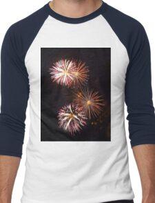 Fireworks 2 Men's Baseball ¾ T-Shirt