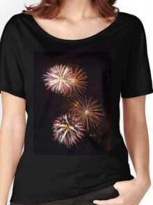 Fireworks 2 Women's Relaxed Fit T-Shirt