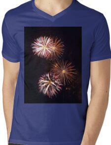 Fireworks 2 Mens V-Neck T-Shirt