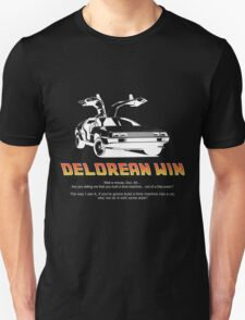 Delorean Win Unisex T-Shirt